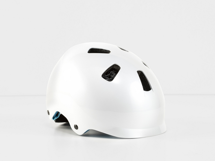Bontrager Helm Jet WaveCel Youth White/Azure CE